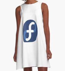 Fedora Linux A-Line Dress
