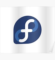 Fedora Linux Poster
