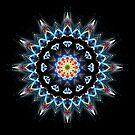 Blue Flame Echo by Hugh Fathers