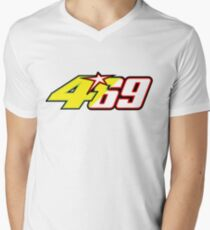 Valentino Rossi pays tribute to Nicky Hayden Mens V-Neck T-Shirt