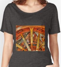 Steam Traction Engine Wheel Women's Relaxed Fit T-Shirt
