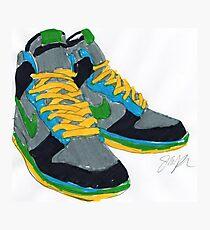 Nike Sneakers Photographic Print
