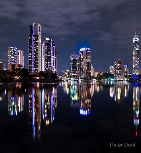 Gold Coast Nightlife by Peter Doré