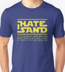For sand haters (yellow) Unisex T-Shirt