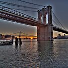 East River Rising by Peter Bellamy