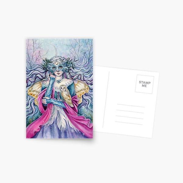 Winterfay Postkarte