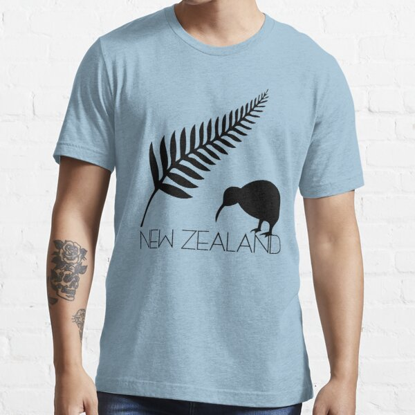 New Zealand Fern & Kiwi Icons Essential T-Shirt