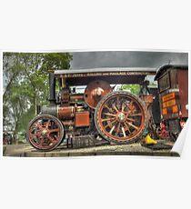 Fowler D5 Road Locomotive Poster