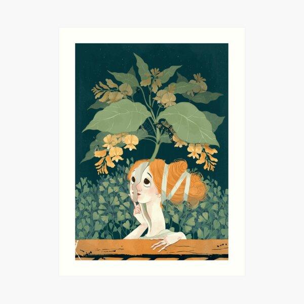 Persephone Blossom Art Print