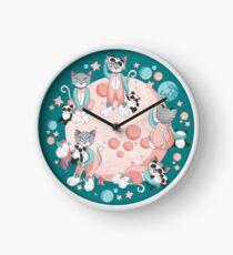 Cats, pandas and unicorns I Clock