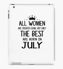 July Birthday Quotes Ipad Cases Skins Redbubble
