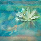 Water Lily with Friend by Marilyn Cornwell