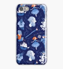Shakespearean pattern -the Tempest iPhone Case/Skin