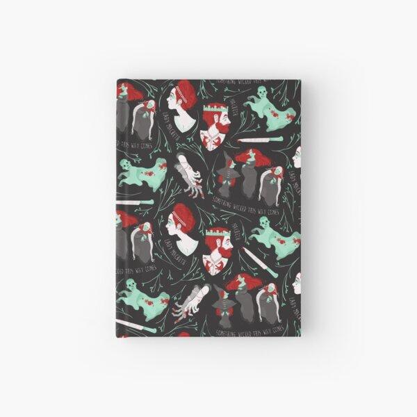 Shakespearean pattern - Macbeth Hardcover Journal