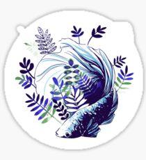 Betta Splendens Sticker