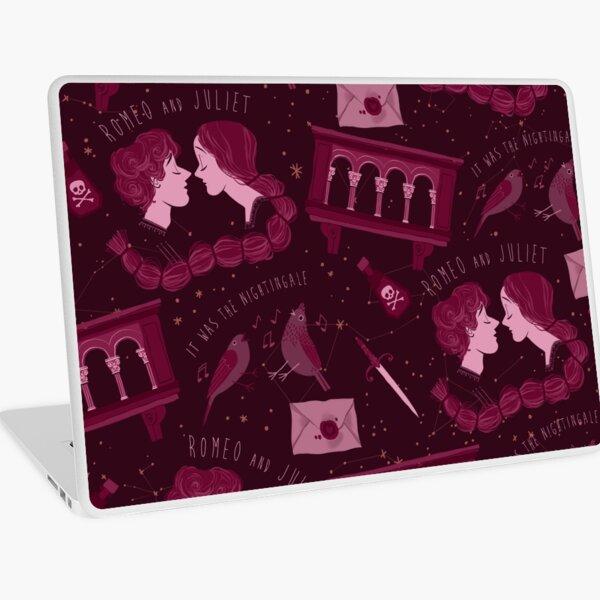 Shakesperean pattern - Romeo and Juliet Laptop Skin