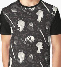 Shakespearean pattern - Hamlet Graphic T-Shirt