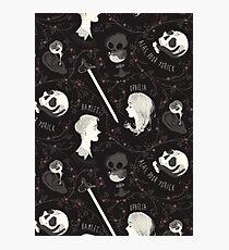 Shakespearean pattern - Hamlet Photographic Print