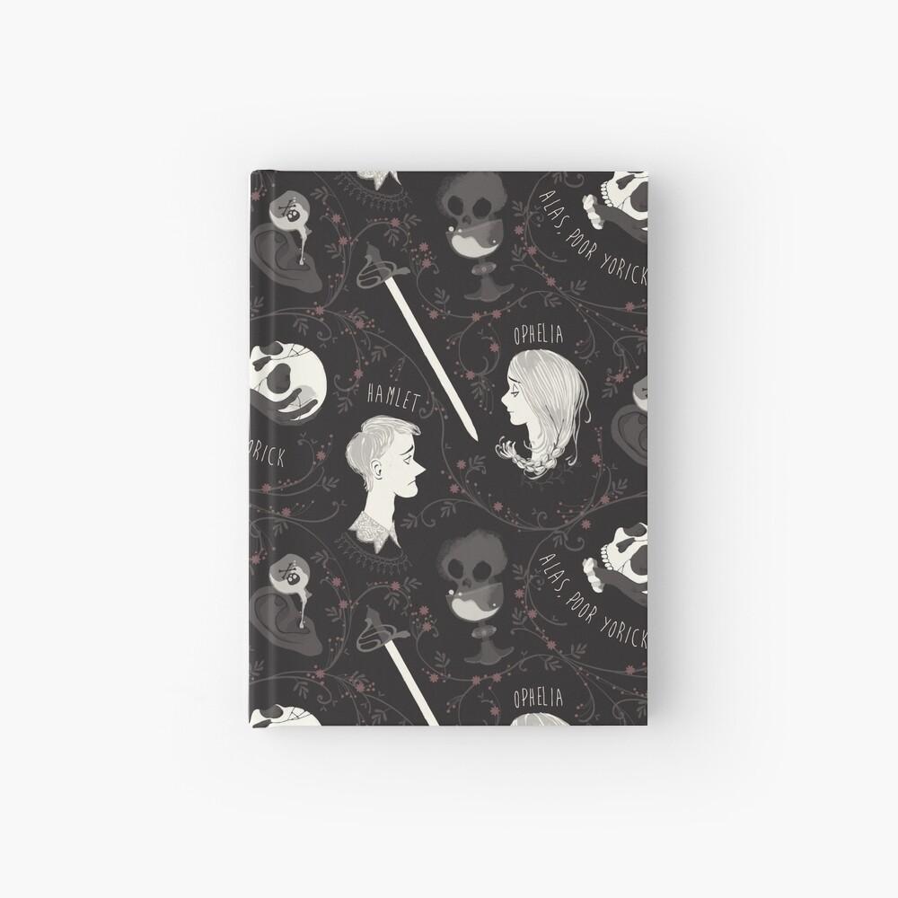 Shakespearean pattern - Hamlet Hardcover Journal