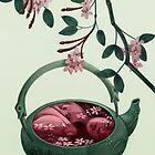 Ophelia in a teapot by Fabio Mancini