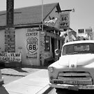 """""""James Dean on Route 66"""" by David Lee Thompson"""