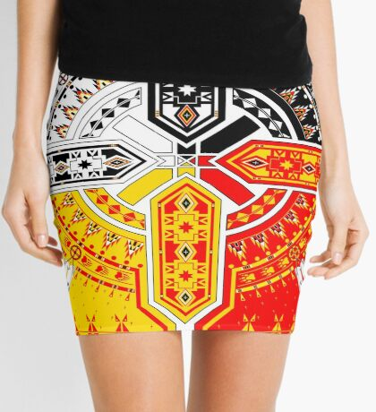 The Four Direction Mini Skirt