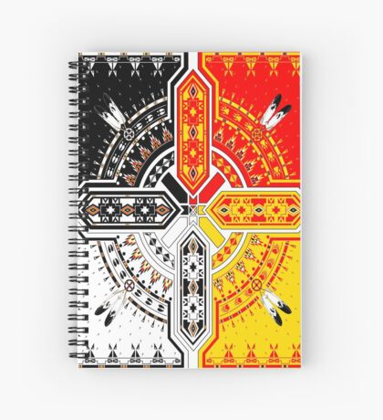 The Four Direction Spiral Notebook