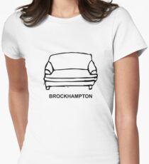 BROCKHAMPTON Couch Logo Black Pattern T-Shirt