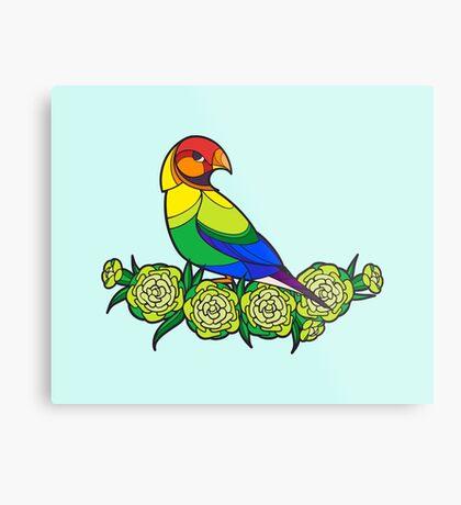 Pride Birds - LGBT Metal Print