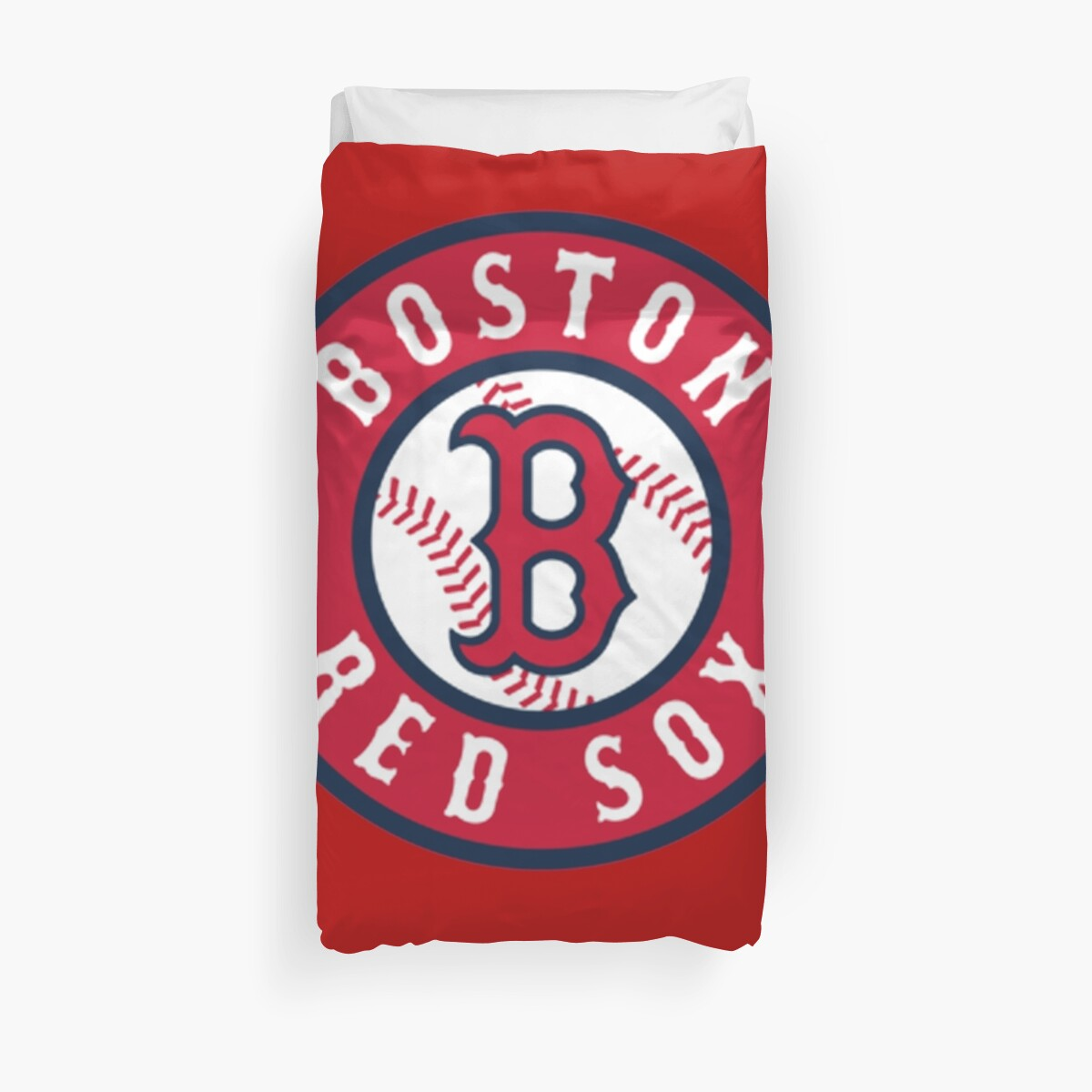 Quot Boston Red Sox Alternate Logo Red Quot Duvet Covers By