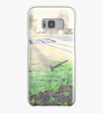 Evening Streetscape Samsung Galaxy Case/Skin