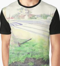 Evening Streetscape Graphic T-Shirt