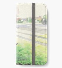 Evening Streetscape iPhone Wallet/Case/Skin
