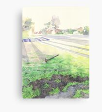 Evening Streetscape Canvas Print