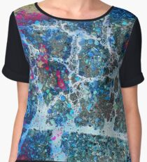 psychedelic colours Women's Chiffon Top