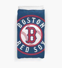 Boston Red Sox alternate logo Duvet Cover