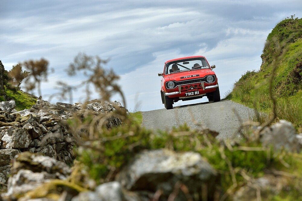 The Three Castles Welsh Trial - Ford Escort MK1 - Photo Max Earey by Three-Castles