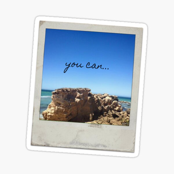 you can... Sticker