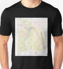 USGS TOPO Map Florida FL Fanning Springs 346088 1968 24000 T-Shirt