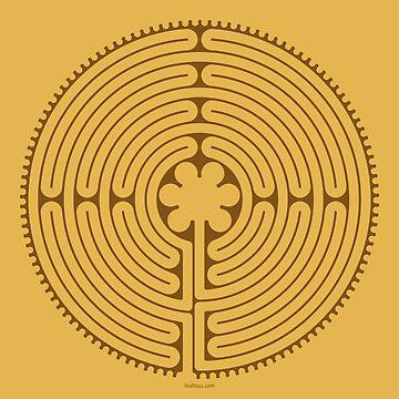 Chartres Labyrinth by tudi