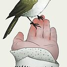 A bird in the hand is worth two in the bush by Wieskunde