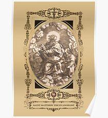 Saint Matthew The Evangelist Poster