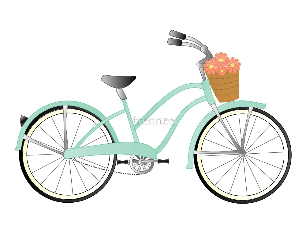 Green Bicycle by trennea