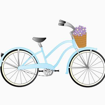 Blue Bike by trennea