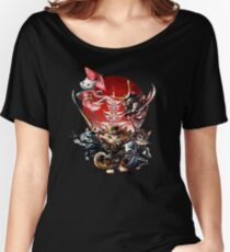 Cat Samurai, Ninja, Kendo Geisha Warrior Women's Relaxed Fit T-Shirt