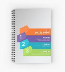 NO SE RINDA! 008 ES Spiral Notebook