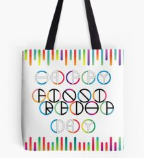 Happy Friendship Day Lettering Tote Bag