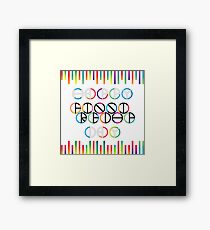 Happy Friendship Day Lettering Framed Print