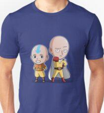 One punch Man & Avatar Aang Unisex T-Shirt