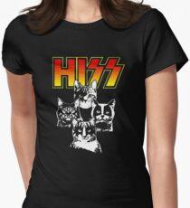 Hiss Kiss Cats Kittens Rock T-Shirt